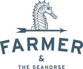 farmer and seahorse logo _ acoustic spot talent